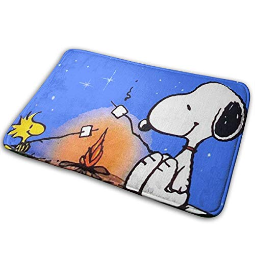 Meirdre Welcome Door Mat Snoopy Indoor Outdoor Entrance Rug Floor Mats Shoe Scraper 15.7