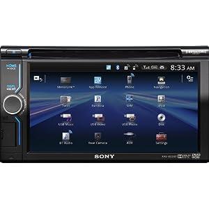 Sony XAV602BT 6.1-Inch Bluetooth AV Receiver with App Remote & Pandora Control