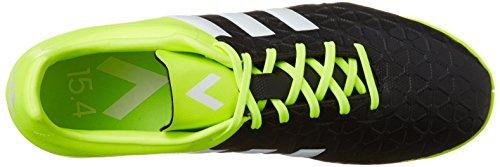adidas Ace 15.4 IN - Botas unisex Negro / Lima / Blanco