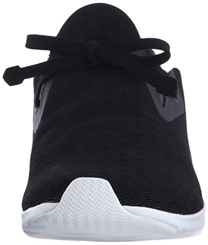 Native unisex Apollo Moc Mode Sneaker. Jiffy Black / Shell Weiß / Streifen
