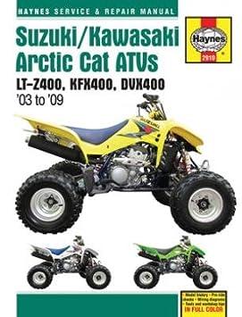 Manual de taller Haynes Suzuki LTZ-400 KFX400 DVX400: Amazon.es: Coche y moto