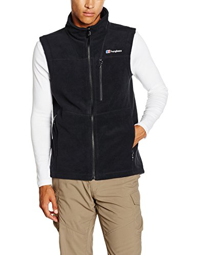 Berghaus Mens Prism Fleece Vest Jet Black