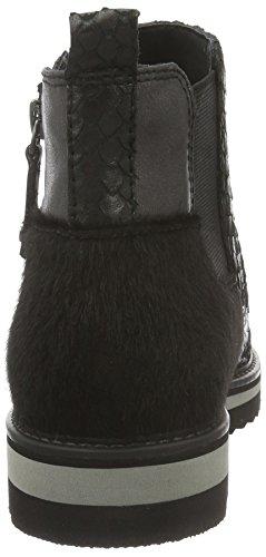 25406 001 Natural Boots Be Black Chelsea Schwarz Damen 0ERRndpq