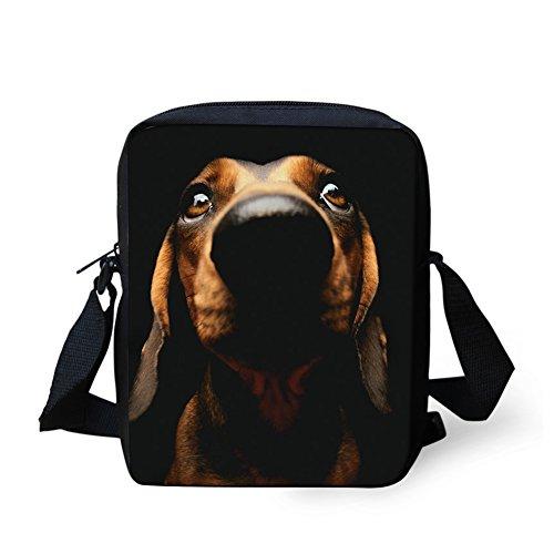 Women Handbag Small Messenger body Dachshund Cross Travel Dog for Bag Adjustable Coloranimal 7 wEqpdInp