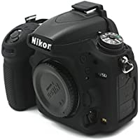 CEARI Silicone Protective Housing Camera Case Body Frame Shell Cover for Nikon D750 DSLR Camera - Black