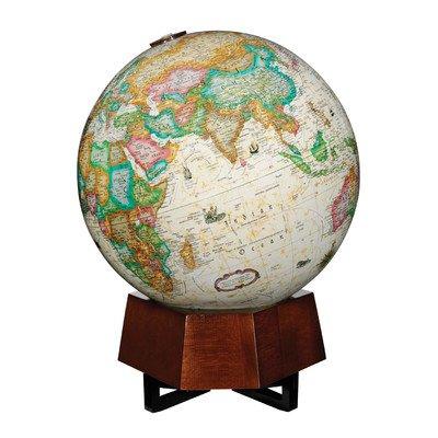 Replogle Desktop World Globe - Replogle Globes Beth Sholom Globe, Illuminated, School Equipment (85376)