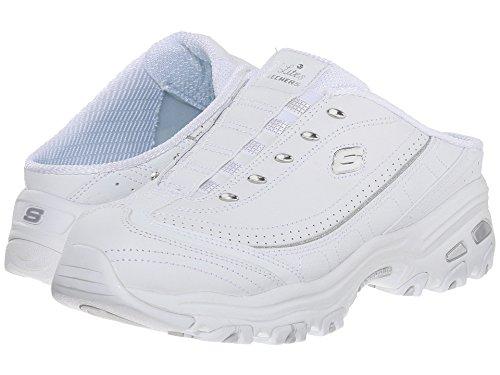 Skechers Women's D'Lites - Bright Sky White Sneaker 9 M