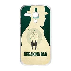 Motorola G Cell Phone Case White_Minimal Breaking Bad Ngxoo