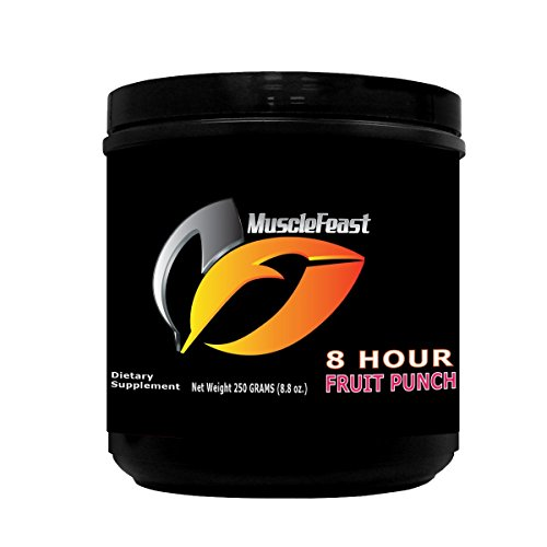 Muscle Feast 8 Hour Powder – Energy Drink (Fruit Punch) Review