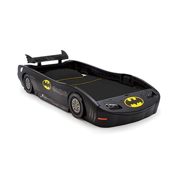 DC Comics Batman Batmobile Car Twin Bed 1