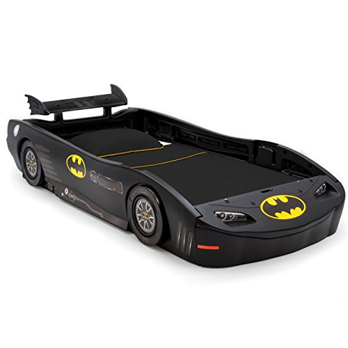(DC Comics Batman Batmobile Car Twin Bed by Delta Children)