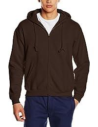 Mens Premium 70/30 Hooded Zip-Up Sweatshirt / Hoodie