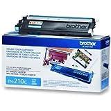 Brother Genuine Brand Name, OEM TN210C (TN-210C) Cyan Toner Cartridge (1.4K YLD) for DCP-9010CN, HL-3040CN, HL-3045CN, HL-3070CW, HL-3075CW, MFC-9010CN, MFC-9120CN, MFC-9125CN, MFC-9320CW, MFC-9325CW Printers