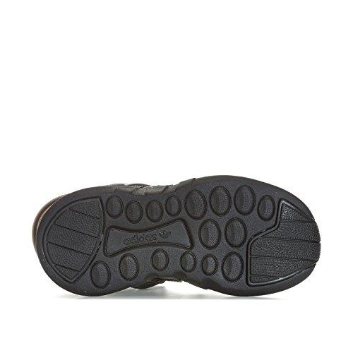 adidas EQT Support ADV C, Zapatillas de Deporte Unisex Niños Negro (Negbas/Negbas/Negbas)