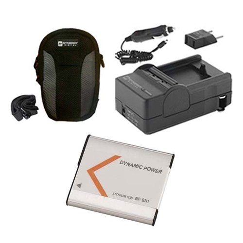 Sony Cyber-shot DSC-W810 Digital Camera Accessory Kit includes: SDNPBN1 Battery, SDM-1515 Charger, SDC-22 Case
