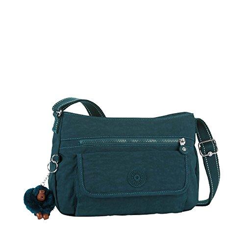 x Bandoulière H Emerald T Kipling Sacs 31x22x12 B 5 Syro cm C Femme Vert Deep x AwfEwvzq