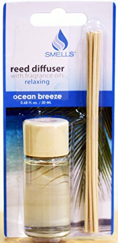 Reed Diffuser With Fragrance Oils Relaxing Ocean Breeze