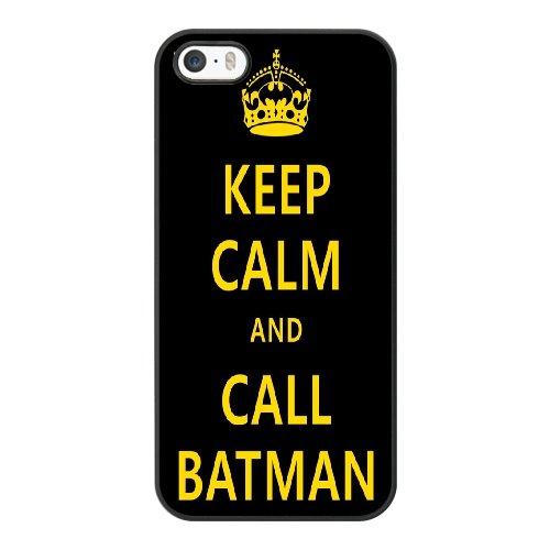Coque,Coque iphone 5 5S SE Case Coque, Batman Print Cover For Coque iphone 5 5S SE Cell Phone Case Cover Noir