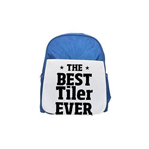 La mejor Tiler nunca impreso Kid 's azul mochila, para mochilas, cute small Mochilas, cute negro mochila, Cool mochila negra, moda mochilas, Gran moda mochilas, negro moda mochila