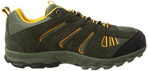 ColumbiaYouth North Plains - Zapatillas de running para chico Marrón (Cypress, Super Solarize 316)