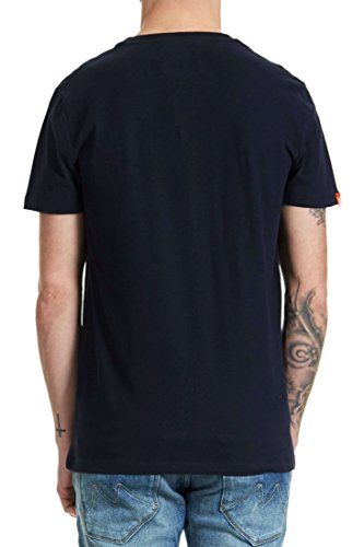 Superdry T-shirt Marine Marineblau