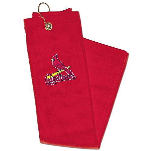 St Louis Cardinals Embroidered Tri-Fold Golf Towel