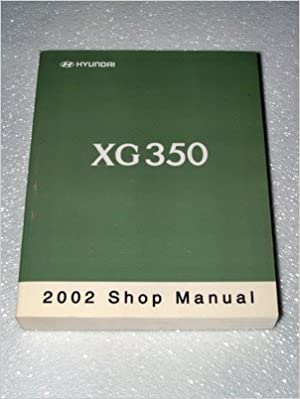 2001 hyundai xg350 owners manual