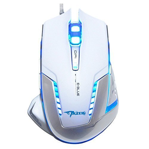 E-3lue-Mazer-EMS600WHAA-Professional-2500-DPI-Blue-LED-Optical-USB-Wired-Gaming-Mouse-White