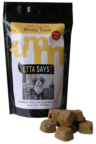 Etta Says! 3-Ounce Freeze-Dried Treats, Lamb Liver, My Pet Supplies