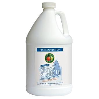 Earth Friendly Products Proline PL9757/04 Spray Starch Non-Aerosol Fabric Treatment, 1 gallon Bottles (Case of 4)