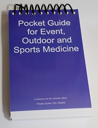 Pocket Guide for Event, Outdoor and Sports Medicine