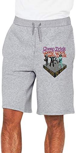 チープ・トリックロックバンド メンズ ショートパンツ トレーニング 短パンツ ハーフパンツ ファッション スポーツ 吸汗速乾