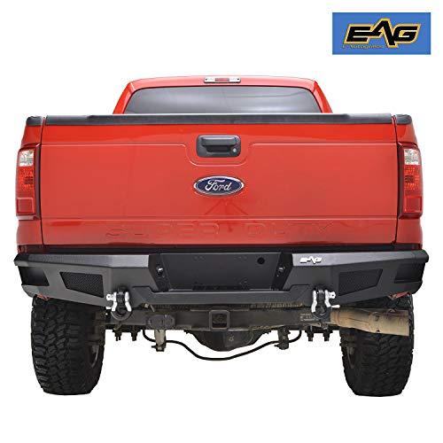 EAG Rear Winch Bumper Heavy Duty Fit for 11-16 Ford Super Duty F250 F350 -