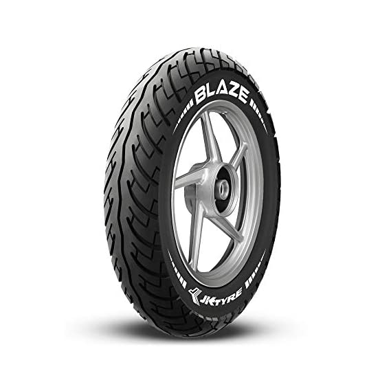 JK Tyre Blaze BA21 90/100 -10 Tubeless Scooter Tyre, Front