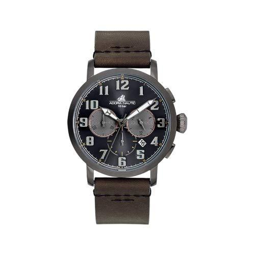 Adora herr kronograf kvartsur med läderarmband AN2132