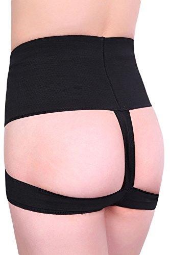 Nero Butt Lifter mutandine Panty Shape Wear lingerie intimo taglia M 10–12