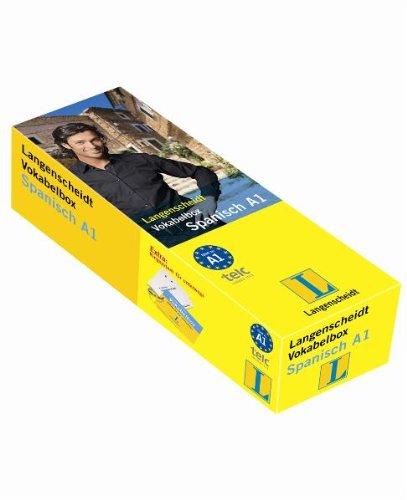 Langenscheidt Vokabelbox Spanisch A1 - Box mit 800 Karten (Langenscheidt Vokabelbox A1)
