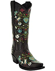 Wildflower Womens Cowgirl Boots by Soto Boots M50030