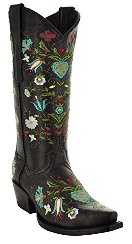 Soto Boots Wildflower Women's Cowgirl Boots by M50030 (Handmade Cowgirl Boots)