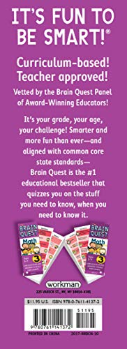Brain Quest Grade 3 Math (Brain Quest Decks)