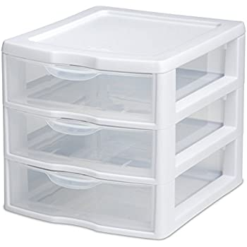 Sterilite  Drawer Mini Unit  Clear