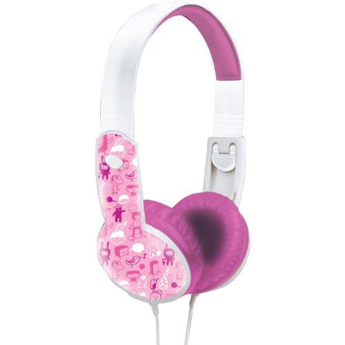 Maxell Safe Soundz Overear Headphones - Pink (190294)