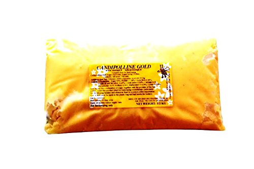 4 X Candipolline Gold complete bee food HALF KILO (1.1Lb) pouches Enolapi