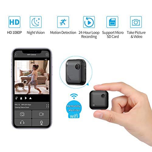 Mini-Spy-Camera WiFi Wireless Hidden