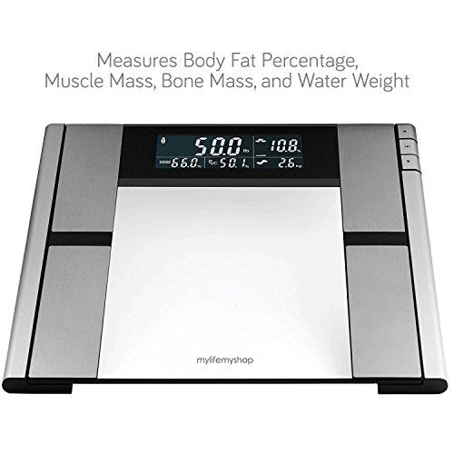 My Life My Shop Digital Scale and Body (Healthy Body Fat Analyzer)