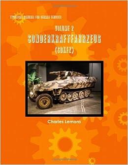 Book Technical Manuals for German Vehicles, Volume 2, Sonderkraftfahrzeug