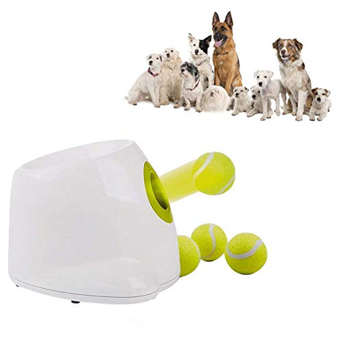 Pet Dog Toy Automatic Throwing Machine Tennis Launcher Boring Exercise Exerciser (pet Toy)