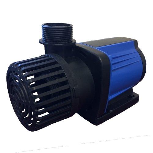 Commando 3000 GPH Variable Speed Pond Pump, Pump Flow Rates 1,200 To 3,000 GPH Max (Remote Intake Pump)
