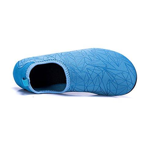 de de Secado Unisex Playa Rápido Piscina Respirable de Agua blau Calzado de Zapatos Xzx Agua Color LK Natación de LEKUNI Zapatos Soles OWHggq8n