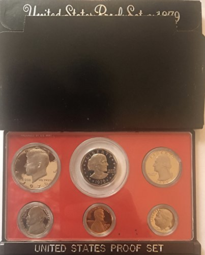 1979 S US Proof Set Type 2 II Comes in Original US mint packaging Proof ()